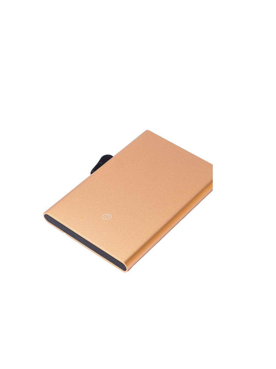 C-Secure Aluminium RFID Cardholder Beige - MORE by Morello - Indonesia