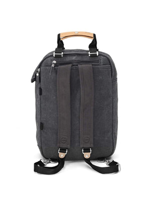 Qwstion Daypack Washed Black - MORE by Morello