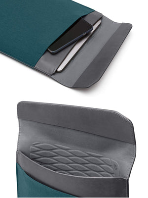 Bellroy Laptop Sleeve Extra 13 Inch Teal Woven - MORE by Morello