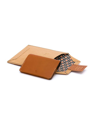 Bellroy Card Holder Caramel - MORE by Morello