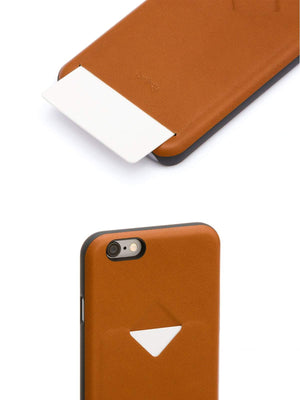 Bellroy Phone Case 1 Card iPhone 7 / 8 Caramel - MORE by Morello Indonesia