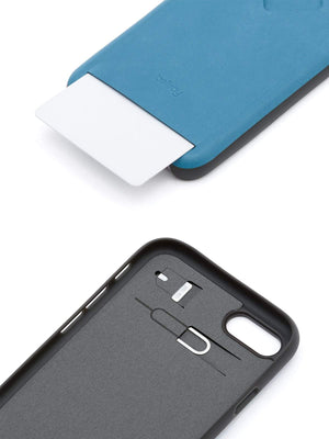 Bellroy Phone Case 1 Card iPhone 7 / 8 Arctic Blue - MORE by Morello