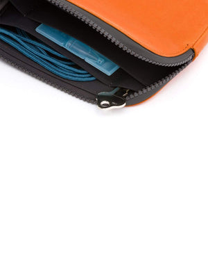 Bellroy All Conditions Essentials Pocket Leather Burnt Orange - MORE by Morello