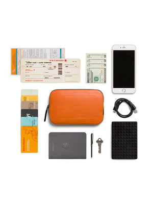 Bellroy All Conditions Essentials Pocket Leather Burnt Orange - MORE by Morello Indonesia