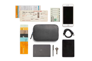 Bellroy All Conditions Essentials Pocket Leather Charcoal - MORE by Morello