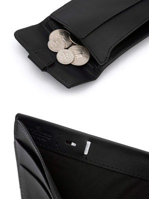 Bellroy Coin Fold Wallet Black - MORE by Morello - Indonesia