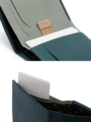 Bellroy Note Sleeve Wallet Teal-Wallets-Bellroy-MORE by Morello