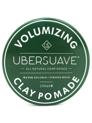 Ubersuave Volumizing Clay Pomade 100ml - MORE by Morello - Indonesia