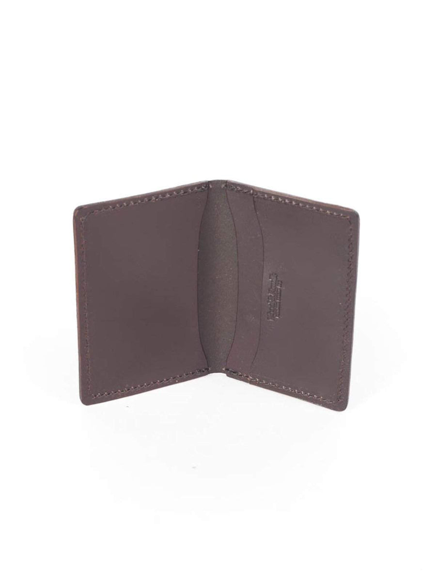 Wood&Faulk Front Pocket Brown Chromexcel Wallet - MORE by Morello Indonesia