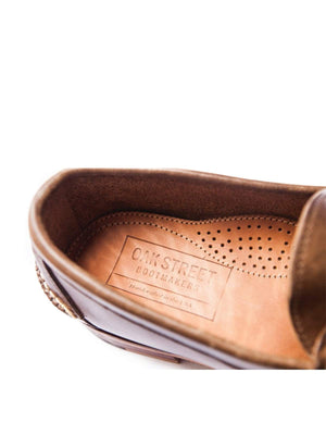 Oakstreet Bootmakers Natural Beefroll Penny Loafer - MORE by Morello - Indonesia