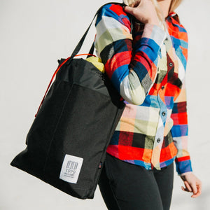 Topo Designs Cinch Tote Black