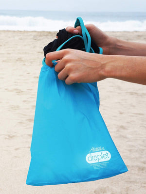 Matador Droplet Mini Dry / Wet Bag Blue 3L - MORE by Morello Indonesia