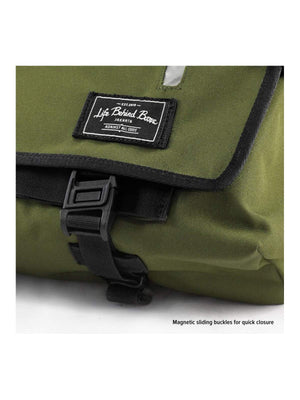 Life Behind Bars The Echelon S 22L Messenger Olive - MORE by Morello - Indonesia