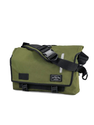 Life Behind Bars The Echelon S 22L Messenger Olive - MORE by Morello Indonesia