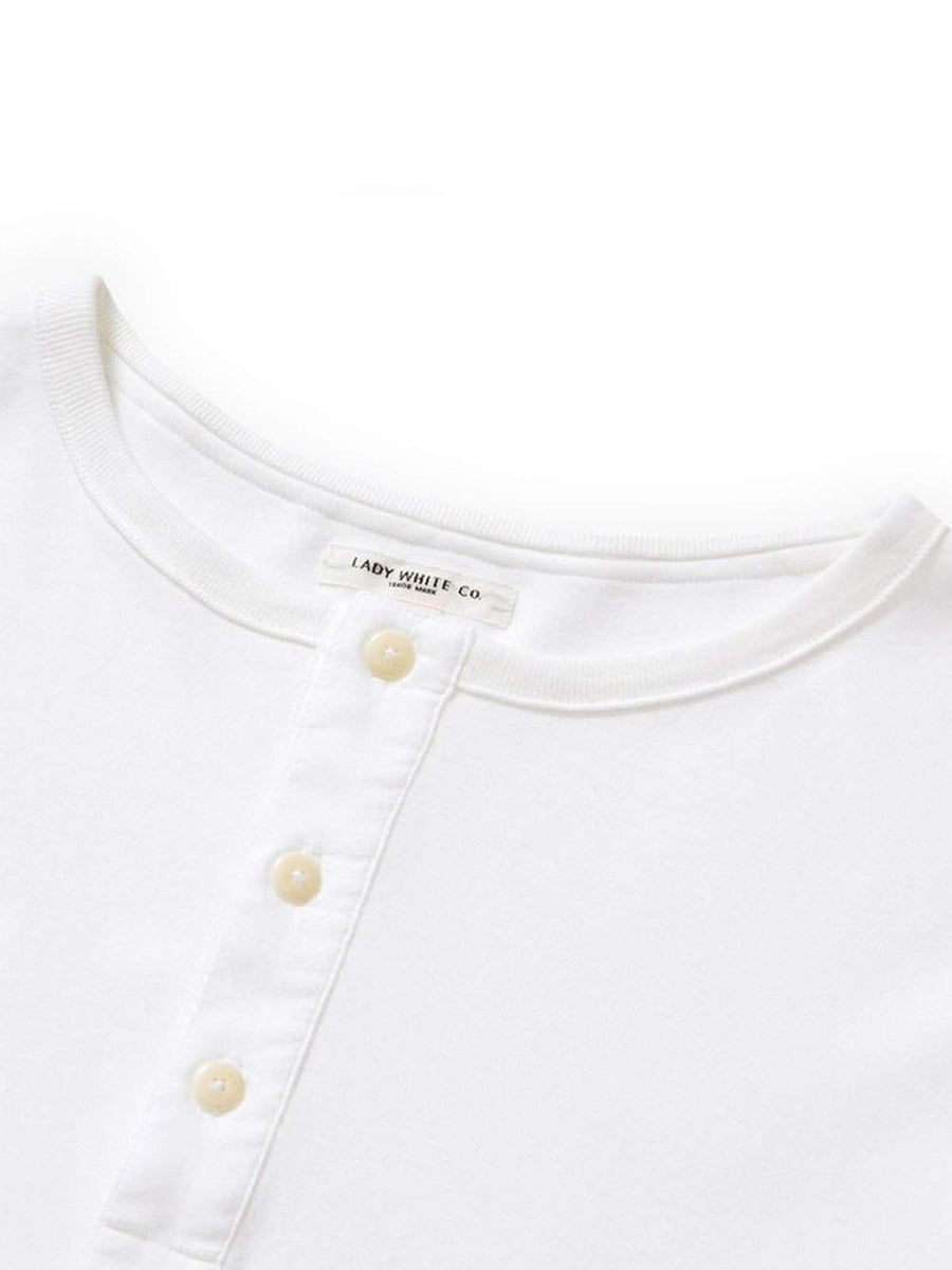 Lady White Co. Henley White - MORE by Morello Indonesia
