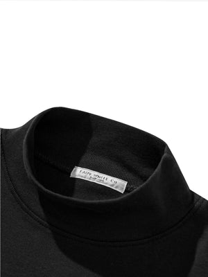 Lady White Co. Mock Neck Black - MORE by Morello Indonesia