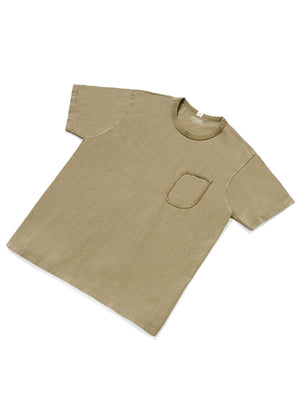 Lady White Co. Clark Pocket Tee Khaki Fog - MORE by Morello - Indonesia