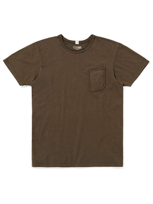 Lady White Co. Clark Pocket Tee Olive - MORE by Morello Indonesia