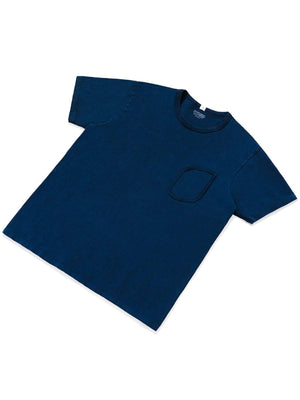Lady White Co. Clark Pocket Tee Judd Blue - MORE by Morello - Indonesia