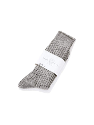Lady White Co. Socks Grey - MORE by Morello Indonesia
