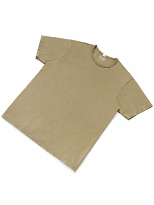 Lady White Co. Our White T-Shirt Khaki Fog - MORE by Morello