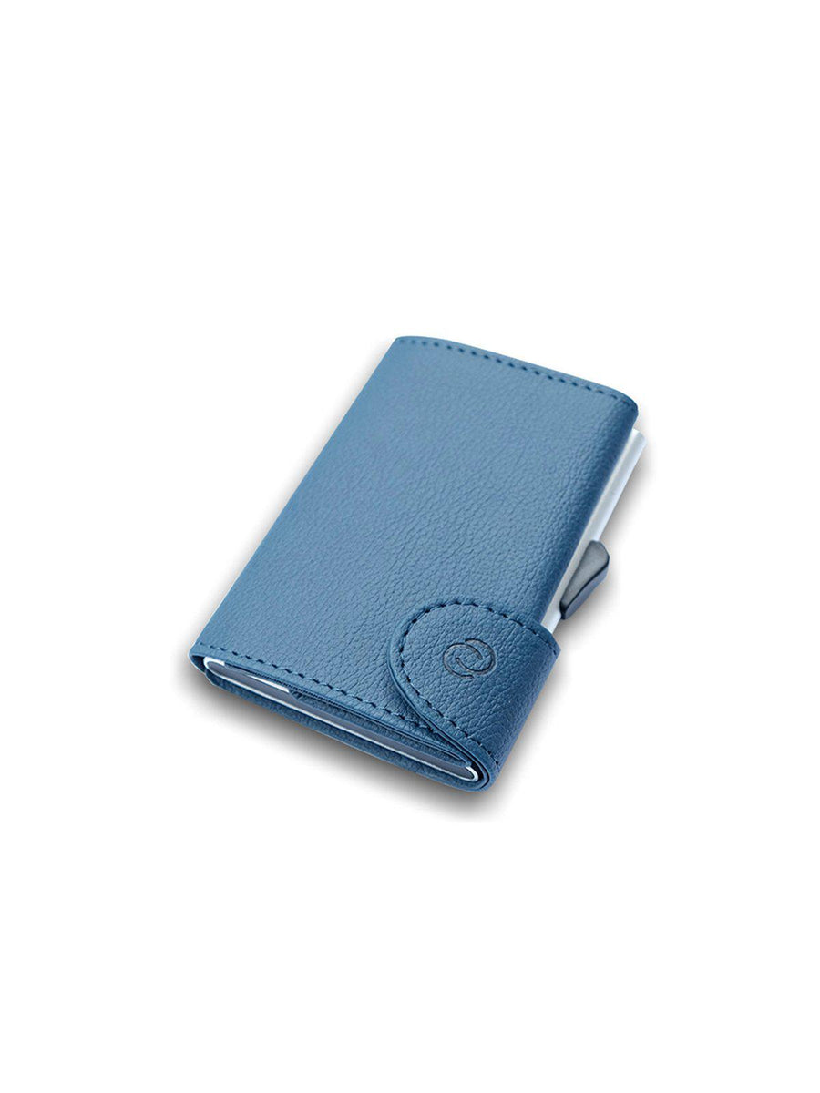 C-Secure PU Leather RFID Wallet Navy 1715 - MORE by Morello Indonesia