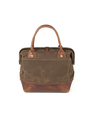 Wood&Faulk Sidecar Everyday Bag Cascade Range Tan-Bags-Wood&Faulk-MORE by Morello