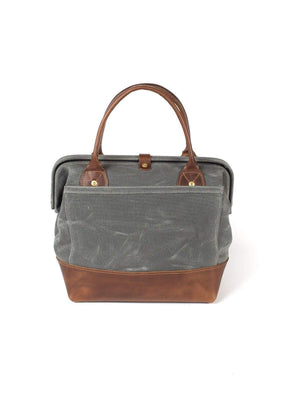 Wood&Faulk Sidecar Everyday Bag North Coast Grey - MORE by Morello - Indonesia