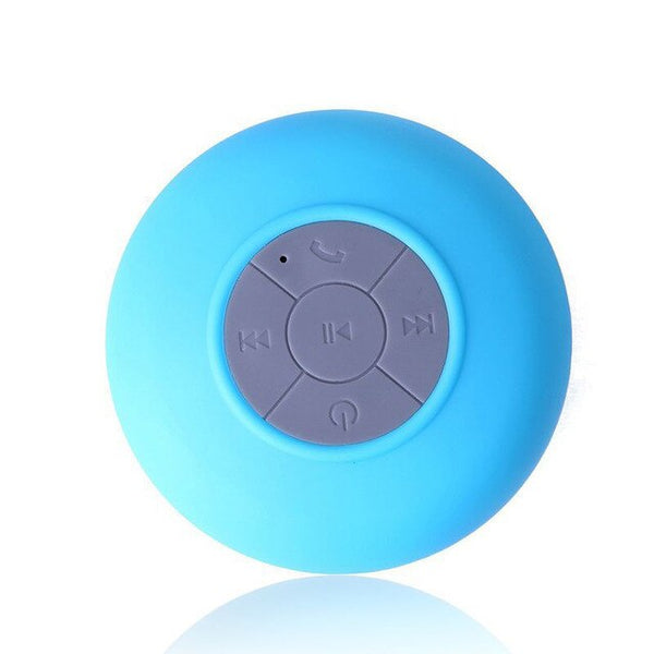 Mini Speaker Shower Suction Cup Anti-drop Bathroom Bathing
