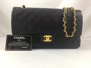 "Chanel Vintage 10"" Double Flap"
