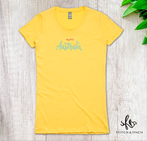 Au Surf - Women's Crew Neck T-shirt