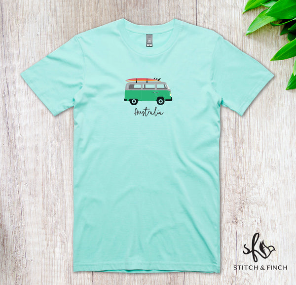 Van Life - Men's Crew Neck T-shirt