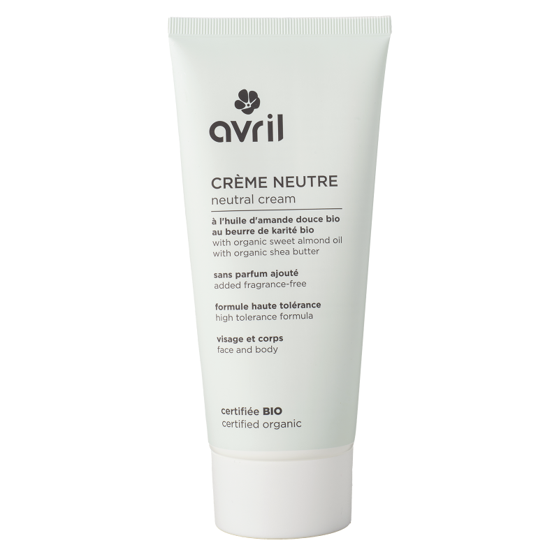 Avril Neutral Cream 200ml - Certified Organic