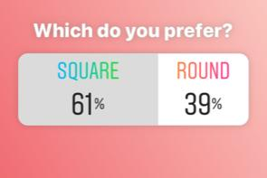 square or round diamond painting poll