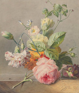 Historic Flower Bouquet Diamond Painting