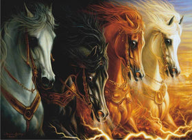Four Horsemen Diamond Painting