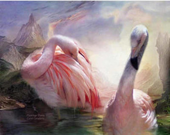 Lovely Swans diamond painting
