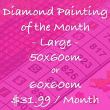 Choose Your Own Monthly Subscription - 60x60cm or 50x60cm - Square