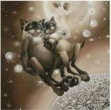 Multiple Cats & Kittens Diamond Painting