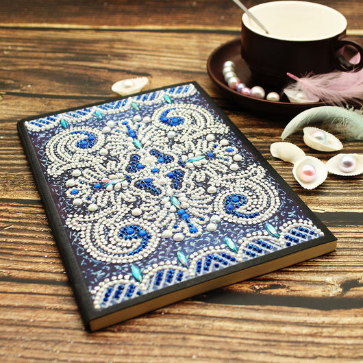 Ocean Mosaic Diamond Painting Notebook