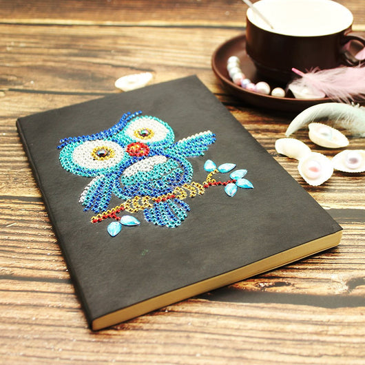 Hoot Owl Diamond Painting Notebook