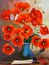 Poppies Diamond Painting