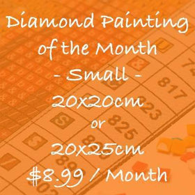 Choose Your Own Monthly Subscription - 20x20cm or 20x25cm - Round