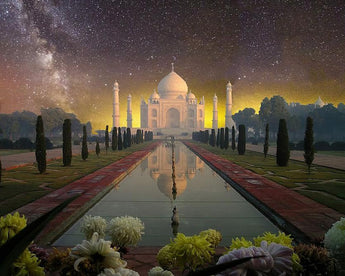 Taj Mahal Diamond Painting