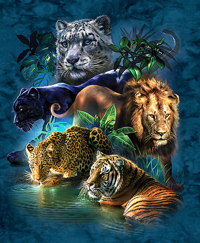 Big Cats Diamond Painting