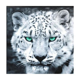 Black and White Tiger Diamond Painting