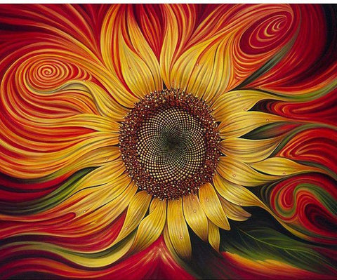 Bright Sunflower Diamond Painting