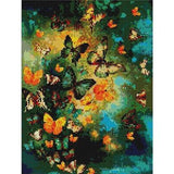 Butterflies Galore Diamond Painting