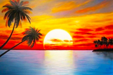 Colorful Sunset Diamond Painting