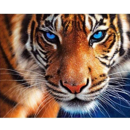 Colorful Tiger Daimond Painting